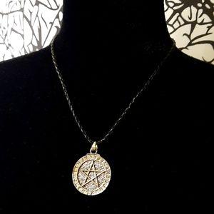 Adjustable Rune Pentagram Necklace